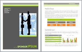 project sponsorship proposal template u2013 microsoft office templates