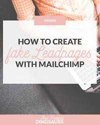 pattern library mailchimp how to create fake leadpages popups for mailchimp and possibly