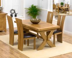 buy the bordeaux 200cm solid oak extending dining table with