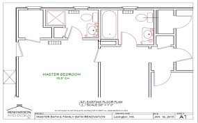 large master bathroom floor plans ma bathroom remodel design plan renovation and design