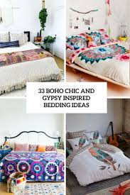 inspired bedding 33 boho chic and inspired bedding ideas house jos