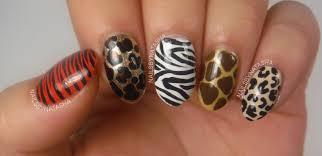nails by natasha nail art august day 6 animal print