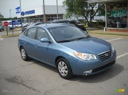 hyundai elantra baby blue 2007 seattle light blue hyundai elantra gls sedan 51272224