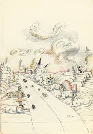 Art Institute Of Chicago Map by Saul Steinberg Art World Outcast Art Review Chicago Reader