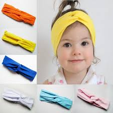 headbands for cotton girl boy baby turban twist headband wrap twisted soft