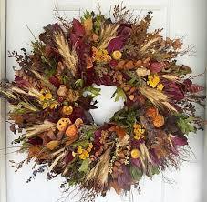 autumn wreath fall wreaths colours of fall wreath