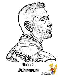 jimmy johnson coloring page coloring home