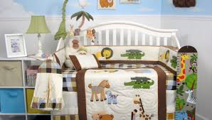 Nursery Bedding Sets For Boy by Baby Crib Sheets Canada Nursery Yellow Gray And Green Colors