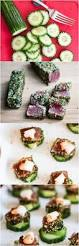 spicy tuna avocado cucumber appetizer with pickled ginger recipe
