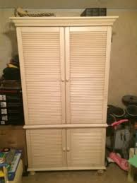 Shutter Armoire Broyhill Fontana Armoire Entertainment Center For Sale In Houston