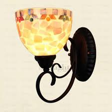 Uplight Downlight Wall Sconce Uplight Wall Sconces Modern Mediterranean Stained Glass