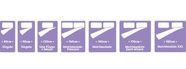 materasso standard materassi misure e dimensioni standard e personalizzate