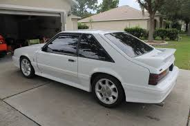 1990 mustang gt cobra for sale 1990 ford mustang cobra clone white look ford mustang