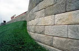 landscaping plans concrete retaining wall cost inspiring
