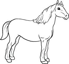 coloring sheets of a horse draft horse coloring pages free horse coloring pages horse coloring