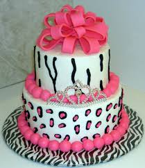 Baby Shower Barbie by Cake Cheesecake Similarhot Pink Little Likes Zebra Print More At