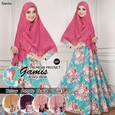 Baju Muslim Dewasa Ukuran Kecil grosir baju gamis katun jepang murah model terbaru 2017 2018 butik