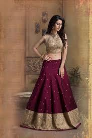 color designer picture of beige u0026 wine color designer lehenga choli indian