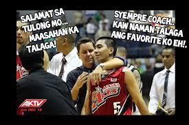 2014 Funny Memes - funny meme barangay ginebra vs san mig coffee mixers game 5