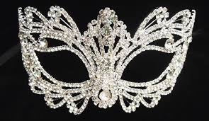 best sell rhinestone crystal masquerade mask wedding mask