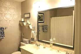 custom bathroom mirrors the custom bathroom mirror choosing an appropriate custom sized
