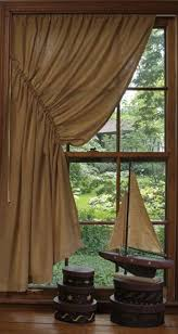 Burlap Looking Curtains Best 25 Country Curtains Ideas On Pinterest Window Curtains