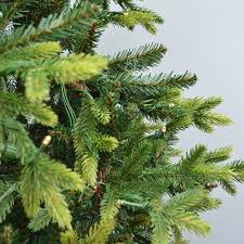 ft kingswood fir artificial tree warm white led lights