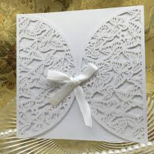Wedding Invitation Blank Cards Wedding Invitations Blank Butterfly Wedding Invitations Cute