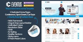 joomla event templates from themeforest