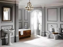 Crystal Chandelier For Bathroom Impressive Bathroom Crystal Chandelier Lavish Modern Bathroom