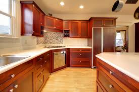 small l shape kitchen using yellow glass tile kitchen backsplash