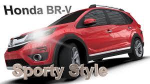 mobil honda brv aerokitz aksesoris modifikasi honda brv sporty style youtube