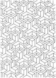 free geometric design coloring pages images crazy gallery