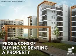pros and cons of renting a house pros cons of buying vs renting a property residential vol21