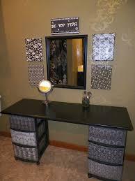 Vanity Table Ideas Gallery For U003e Diy Vanity Table Ideas Diy Makeup Vanity Ideas