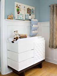 Hanging Changing Table Organizer A Classic Nursery For A Baby Boy With Some Twists Nursery