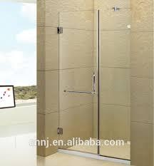 Frame Shower Door Simple Glass Shower Door Partition Door Without Frame Shower Door