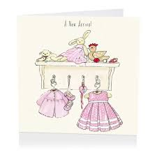 baby girl cards pink a new arrival card baby girl card karenza paperie