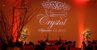 Wedding Gobo Templates Custom Message Gobo Design Midnight Gala Events