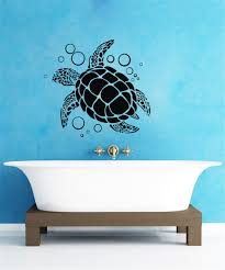 wall decals unique coloring sea turtle wall decals 40 sea turtle
