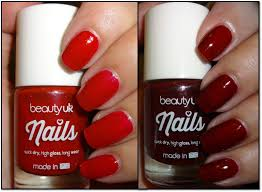 wendy u0027s delights beauty uk nail polish post box red u0026 rouge