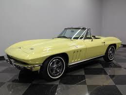 1966 corvette roadster sunfire yellow 1966 chevrolet corvette for sale mcg marketplace