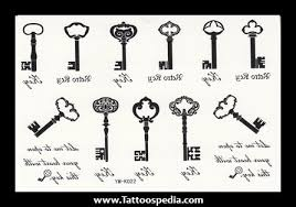 skeleton key tattoo meaning tattoo collections
