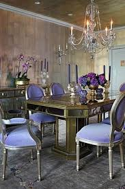 purple dining room ideas purple chairs interiors by color 12 interior decorating ideas