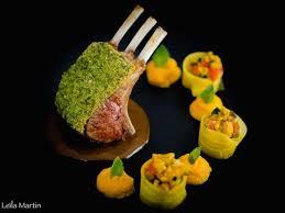 cuisiner agneau carré d agneau en croûte d herbes et saveurs orientales je vais