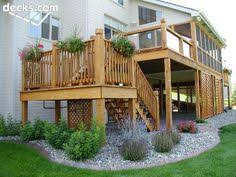 Landscape Deck Patio Designer Deck Landscaping 39 056 The Deck Landscaping Home
