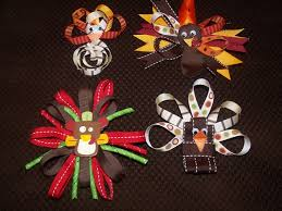 thanksgiving hair bows 38 best thanksgiving bow ideas images on hairbows