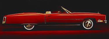1972 cadillac fleetwood eldorado convertible in coronation red