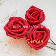 roses wholesale wholesale 50pcs 7cm pe artificial foam roses for diy
