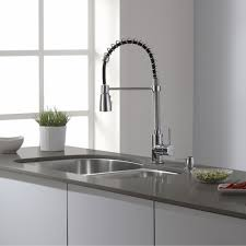 Premium Kitchen Faucet Kraus Kpf 1612 Premium Kitchen Faucet Chrome Pro Pre Rinse Units